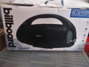 Billboard wireless Bluetooth Speaker for Sale in Tipton, CA