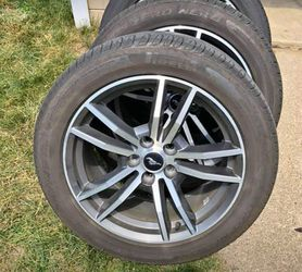 Rims and tires for sale. Set of 18s with brand new stock rims. 1600 obo for Sale in Redford Charter Township,  MI