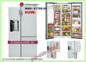 LG Door in Door Showcase Refrigerator for Sale in Hacienda Heights, CA