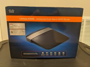 Linksys E2500 Advanced Dual-Band N600 Router for Sale in Olney, MD