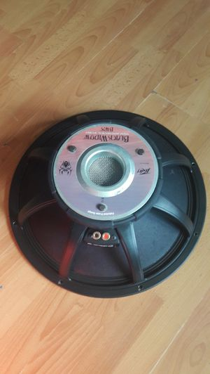 Peavey Black Widow Low Rider Subwoofer Speaker for Sale in Queens, NY