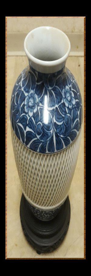 Radiant, Dinnerware, Decor, Decorative, Glass, Flower, Japanese vase for Sale in Everett, WA