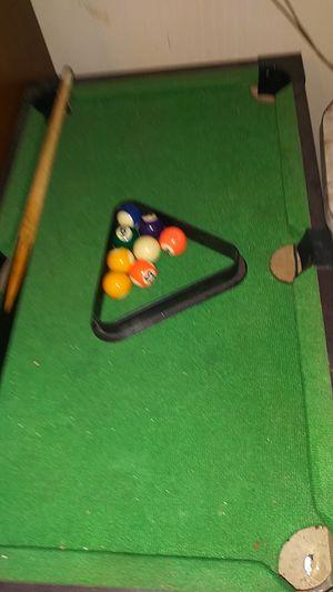 mini pool table for Sale in Wichita, KS