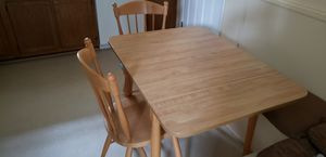 Kitchen kitchenette Table with 3 chairs for Sale in Virginia Beach, VA