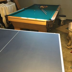 8x4 1/2. Pool And Ping Pong Table for Sale in Gardena, CA
