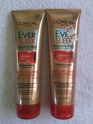 $7 for both. L'Oréal Ever hair care. Price is firm. Pickup only. Hablo español. for Sale in Las Vegas, NV