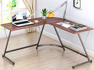 L Shaped Computer Desk - Like New for Sale in Foster City, CA