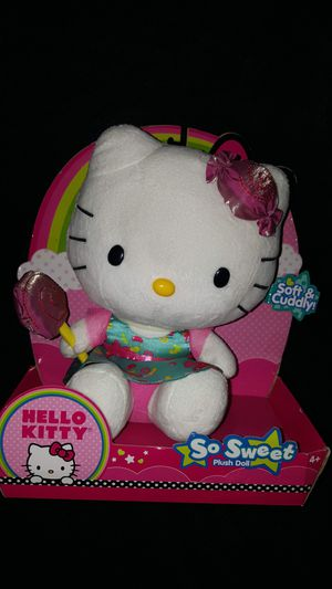 Brand New!!! Hello Kitty So Sweet Plush Doll!!! for Sale in National City, CA