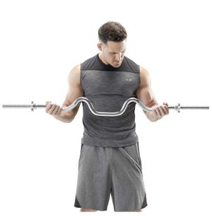 Marcy Chrome Bicep-Tricep Super Curl Bar NEW for Sale in Philadelphia, PA