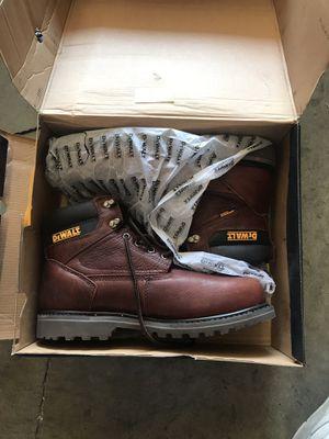 DEWALT Axle Men's Size 10.5(W) Brown Leather Steel Toe Waterproof 6 in. Work Boot for Sale in Rosemead, CA