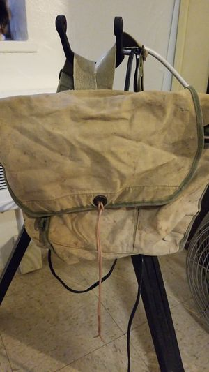 Back Pack, green canvas hiking backpack for Sale in Portland, OR
