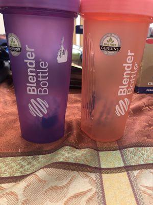 Two new blender bottles for Sale in Saint James, NY