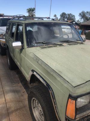 1992 Jeep Cherokee xj for Sale in Phoenix, AZ