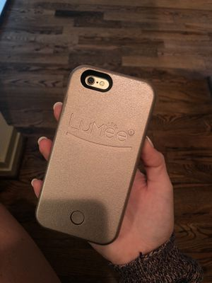 LuMee case iPhone 6 - Rose Gold for Sale in Houston, TX