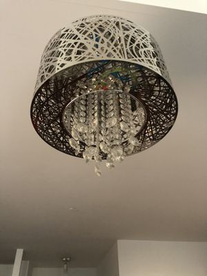 Chandelier with crystal shade for Sale in New York, NY