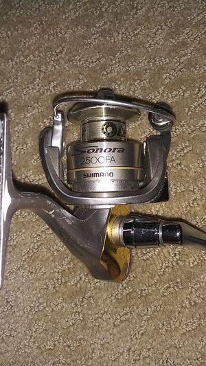 Sanora Shimano 2500 fishing reel for Sale in Denver, CO