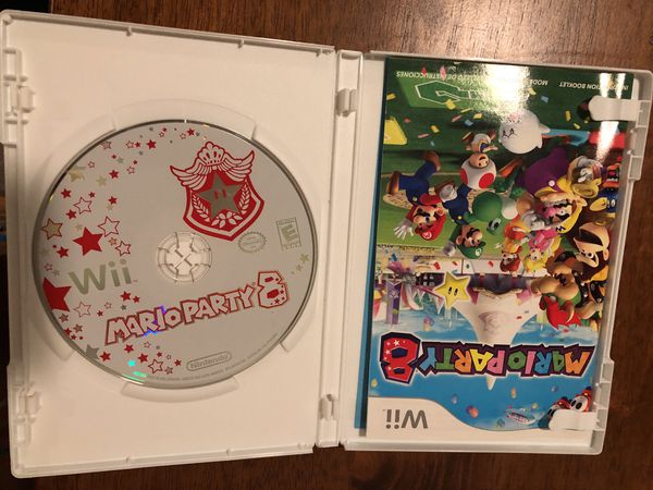 Wii / Wii U Game Mario Party 8
