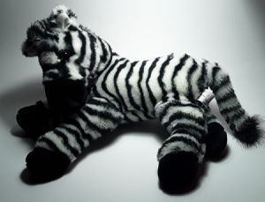ZEBRA STRIPES PLUSHIE for Sale in North Port, FL