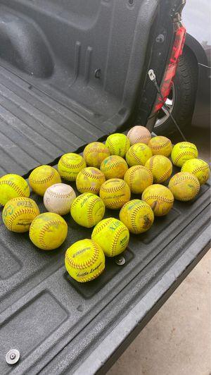 Bag full of softballs for Sale in Avondale, AZ