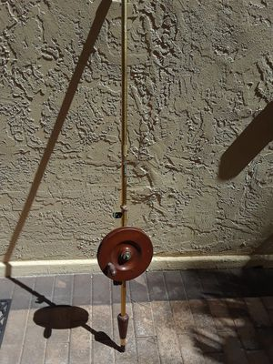 Antique kite fishing rod and reel for Sale in Pinecrest, FL