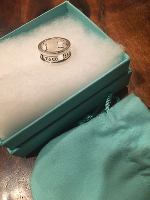 Tiffany and co ring size 7 for Sale in Lascassas, TN