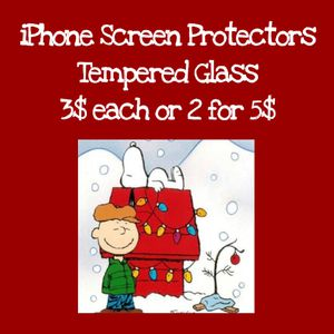 iPhone Screen Protectors Tempered Glass for Sale in Victorville, CA