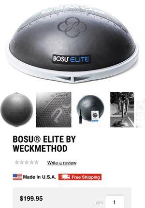 Bosu elite by weckmethod. Bosu ball for Sale in Miami, FL