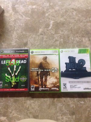 Xbox 360 Games firm price no delivery price differs per item for Sale in Chicago, IL