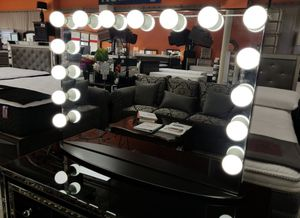 BRAND NEW VANITY MIRROR IMPRESSIONS ONLY ADD MATTRESS AND NEW FURNITURE AVAILABLE:3 for Sale in El Monte, CA