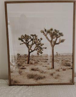 Framed Joshua Tree Print for Sale in Seattle,  WA