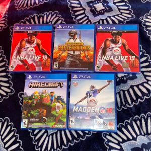 Ps4 Games for Sale in Mexico, MO