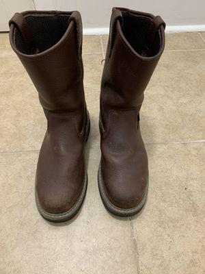 Wolverine multishox work boots 8 1/2 for Sale in Dallas, TX