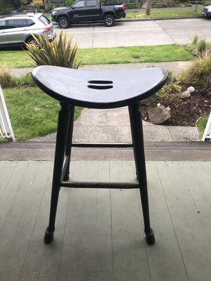 Wood bar stools (qty: 3) for Sale in Seattle, WA