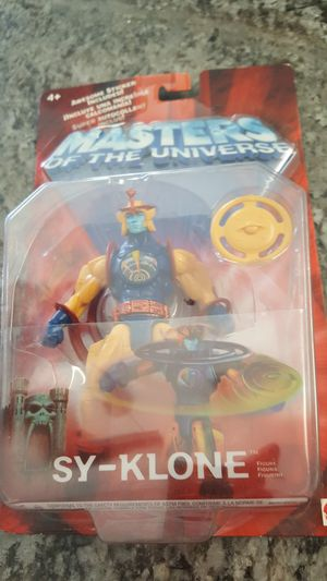 Masters of the universe SY KLONE action figure still in box for Sale in Clovis, CA
