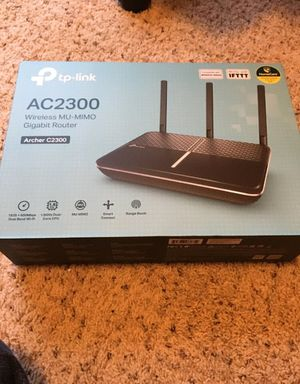 TP-Link Archer C2300 WIFi router and Archer C1900 Range Extender/Bridge for Sale in Georgetown, TX