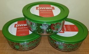 Pyrex Glass Containers NEW for Sale in Boca Raton, FL