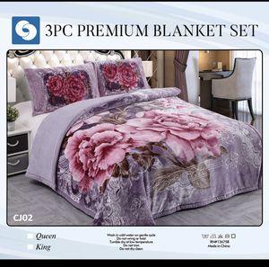 3 pc premium Borrego Blanket for Sale in El Monte, CA