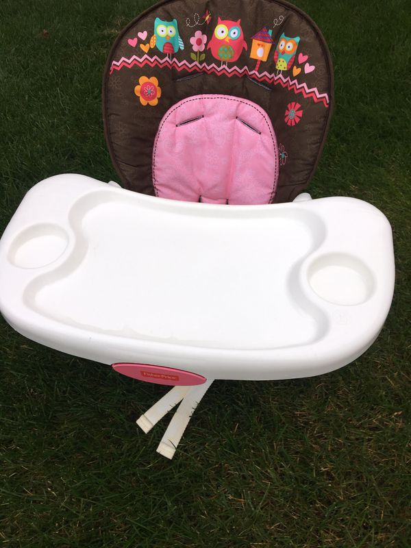 Kid girl toddler high chair
