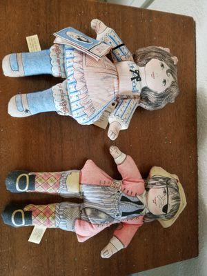vintage two dolls for Sale in St. Petersburg, FL