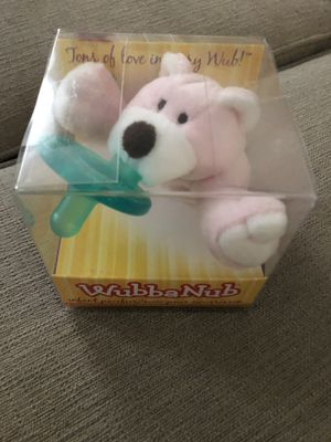 Brand new wibbanub pacifier for sale  box for Sale