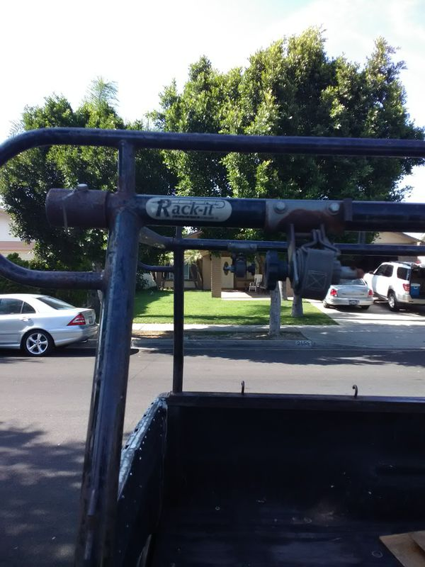 Custom build rack with load straps winch for of them