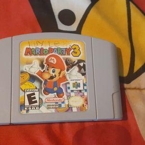 Mario Party 3 For Nintendo64 for Sale in Los Angeles, CA