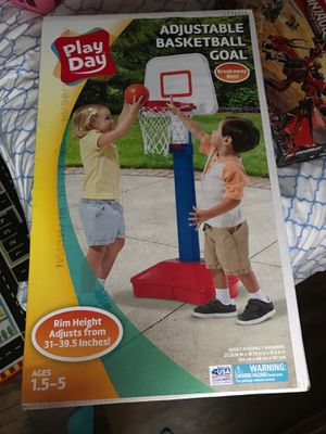 Play day basketball goal for Sale in West Point, MS