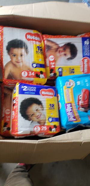 Diapers, all sizes,from 0 to 5 ,pull up huggies, for Sale in Davenport, FL