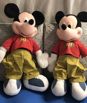 """Jumbo Mickey Mouse 24"""" Tall - Red Shirt Green Pants - Giant Stuffed Animal for Sale in Kansas City, MO"""