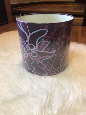 Purple lamp shade for Sale in Rochester Hills, MI