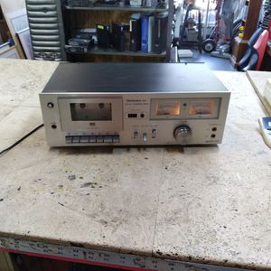 Technics M7 Stereo Cassette Deck Tape Player Dial High End RS - 678u Vintage Marantz Style Meters Tube Amp for Sale in Pompano Beach, FL