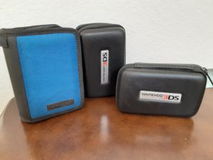 Nintendo 3DS Travel Cases (3) for Sale in Victorville, CA