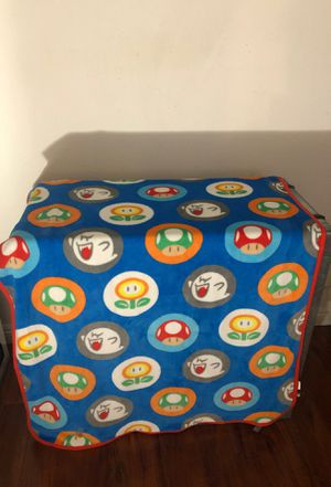 Mario Bros throw blanket for Sale in Fullerton, CA