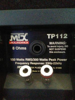 MTX pro audio for Sale in Portland, OR